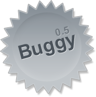 buggy 0.5 - artwork by Bryan Bell